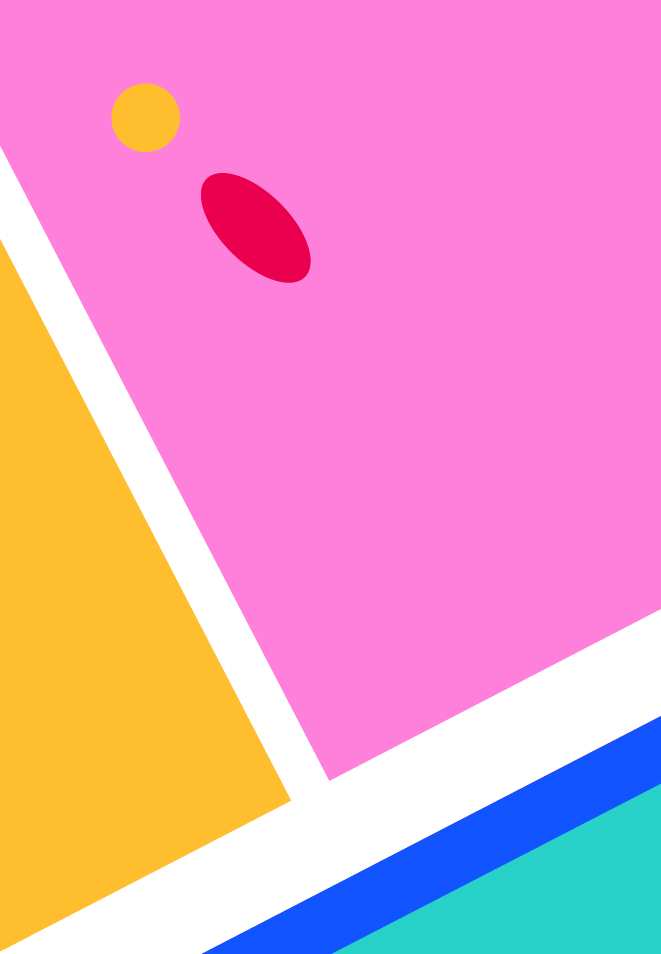 Abstract Tennis Court