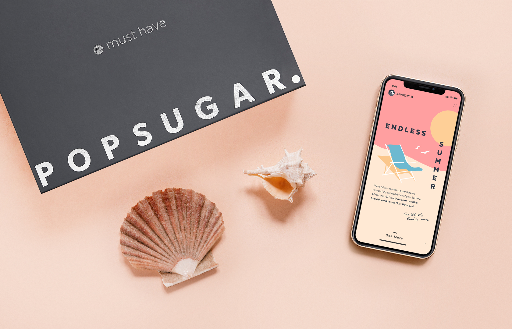 POPSUGAR Must Have lifestyle image with Instagram Story